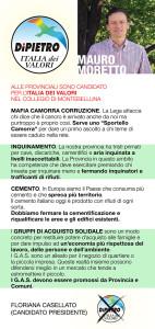 Volantino Moretto Mauro