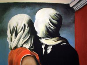 René Magritte, Les Amants, 1928