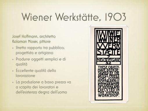 Wiener Werkstatte, 1903