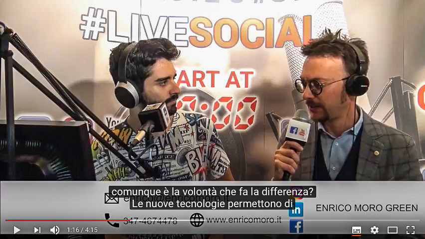 Video Intervista sul Green Marketing